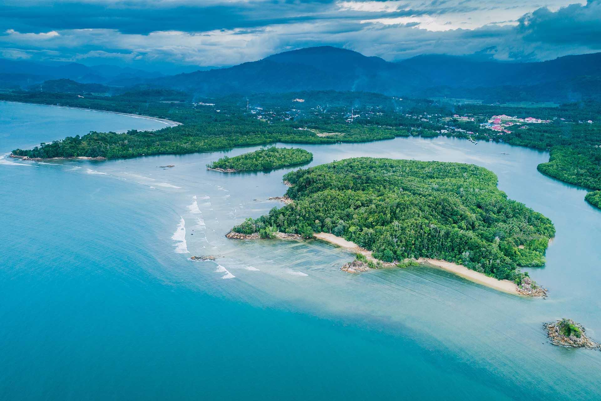 Pulau Damar Boroko From The Sky Waktu News