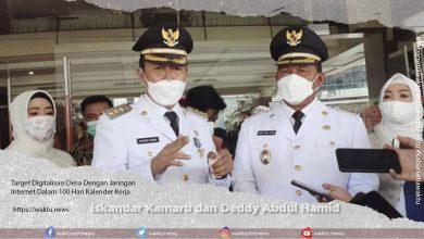 Iskandar Kamaru dan Deddy Abdul Hamid