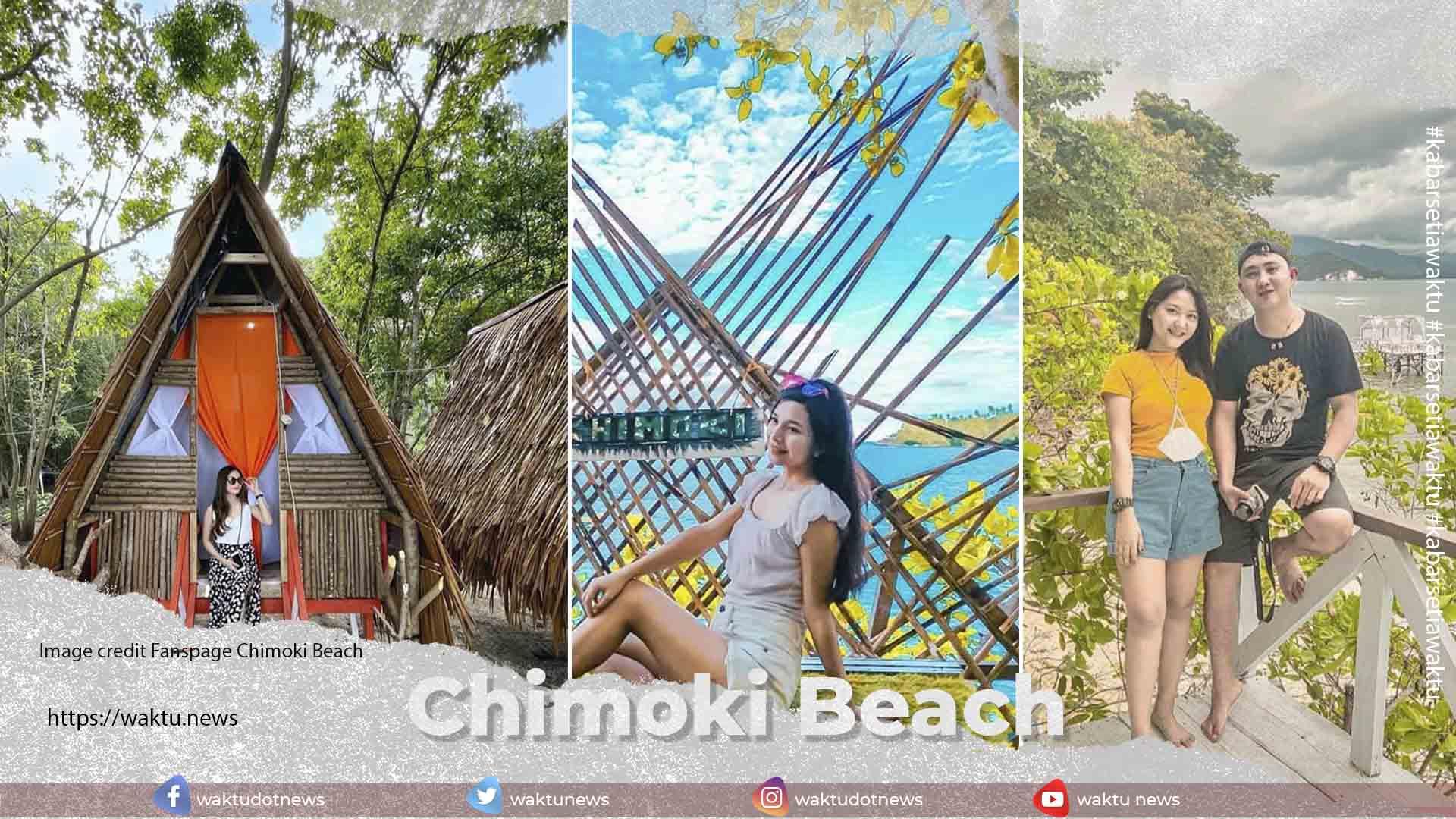 Chimoki Beach di Boltim Mempesona • Waktu.news