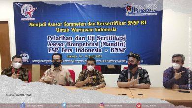 BNSP Larang Dewan Pers Sertifikasi Wartawan