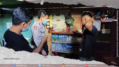 Polisi Geledah Tiga Tempat Miras di Nuangan