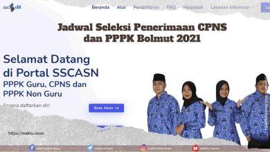 Jadwal Seleksi CPNS Bolmut 2021