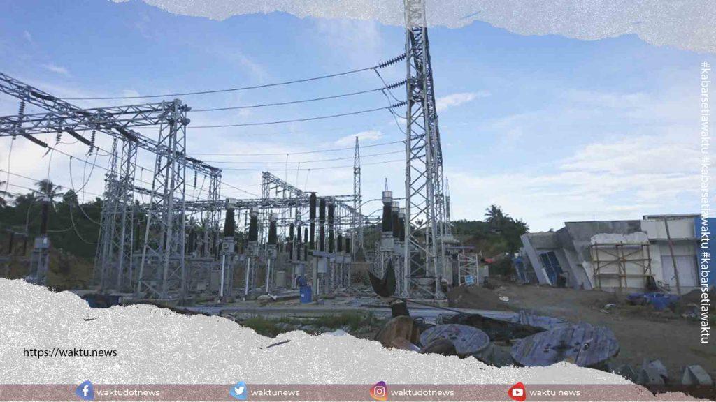 jaringan transmisi dari Gardu Induk