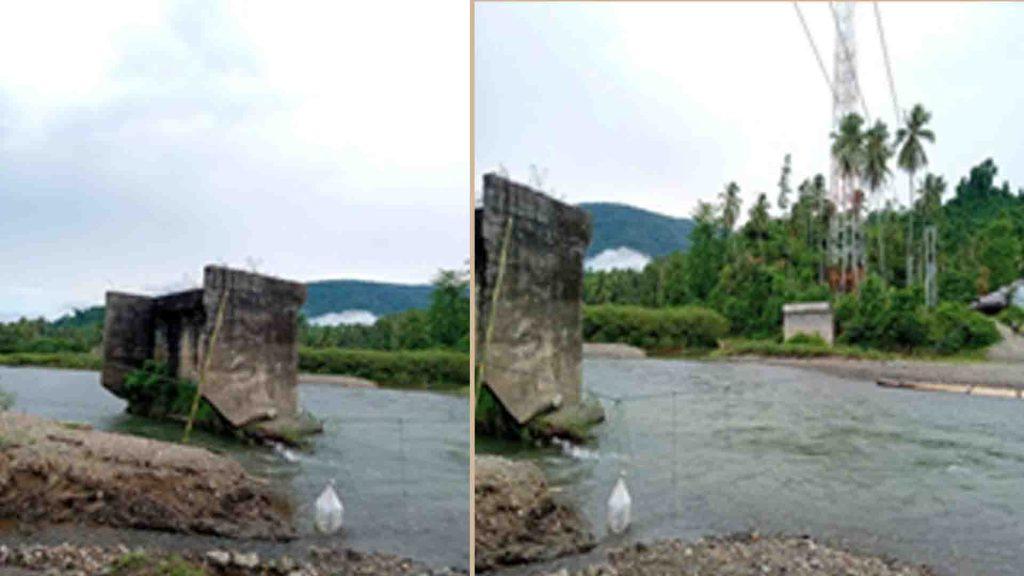 Jembatan yang Ada di Desa Ollot II