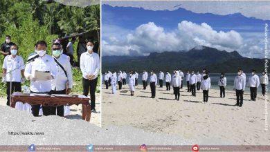 Pejabat Boltim Disumpah di Pulau Nenas